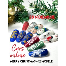 Curs online MERRY CHRISTMAS- 12 MODELE