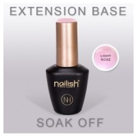 EXTENSION BASE LIGHT ROSE - NAILISH