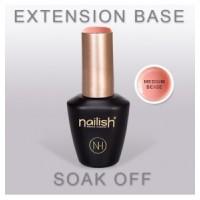 EXTENSION BASE MEDIUM BEIGE - NAILISH